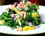 虾仁菠菜沙拉