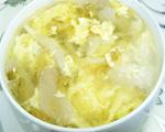 榨菜平菇蛋花汤