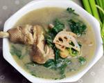 芹菜藕片鸡汤