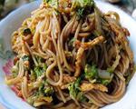 鸡丝白菜炒红米线