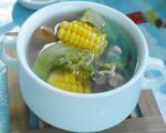 芥菜玉米瘦肉汤