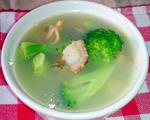 花菜蛤蜊汤