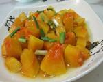咖喱南瓜丁