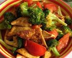 西兰花炒豆腐