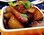 瘦肉焖白萝卜