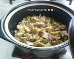 猪油渣芋苗煲