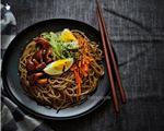 日式菌菇荞麦凉面