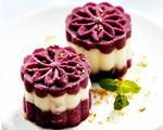蜜汁紫薯山药糕