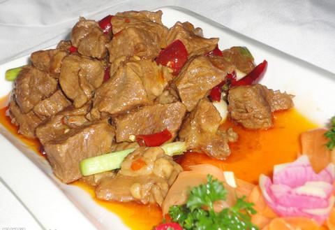黄焖牛肉的热量