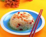 蒸米饭加杂粮蔬菜让营养翻倍
