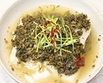 雪菜蒸鳕鱼