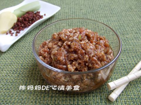 猪肉饺子馅怎么调好吃的配方