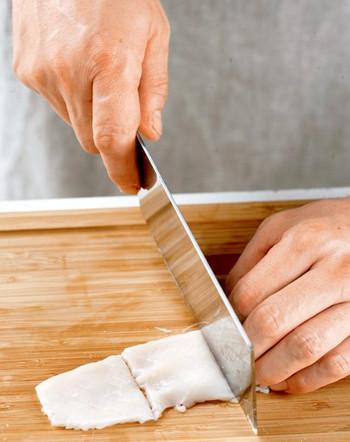 麦穗花刀的切法 麦穗形花刀怎么切图文解析图片