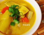咖哩鱼片汤