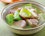 丝瓜鲜菇瘦肉汤