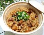 日式鸡肉舞菇炊饭(电锅版)
