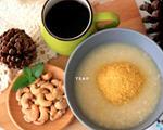 姜汁红扁豆小米粥(感冒后很想吃)