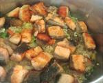 鲑鱼蔬菜炊饭