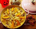 南瓜野菇炖饭