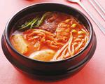 大家都爱吃的暖呼呼韩式泡菜火锅