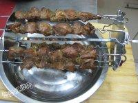烤猪肉串的做法步骤13
