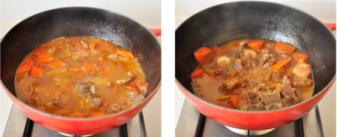 牛尾炖番茄的牛尾_番茄炖做法做好吃不能什么病图解吃鸡爪图片