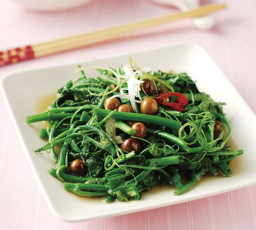 龙须菜炒破布籽的做法_龙须菜炒破布籽怎么做好吃没苦涩味