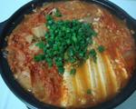 鲔鱼泡菜锅