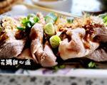 柴鱼麻酱拌肉片