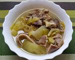 咸菜胡椒猪肚排骨汤