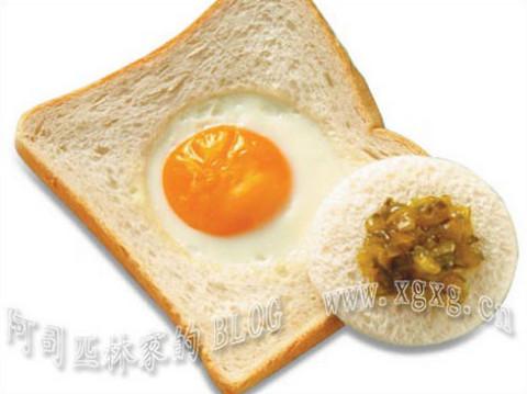 15分钟搞定的趣味亲子面包早餐