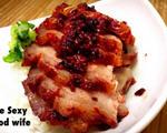 红麴酒酿叉烧肉