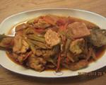 蛋豆腐红烧鱼