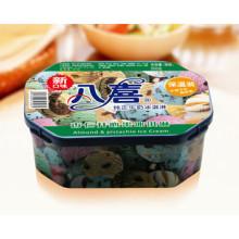 八喜冰淇淋组合装500g家庭装杏仁开心果、蓝莓彩带、琥珀奶油口味各1盒合计3盒装 价格99.0元