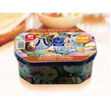 八喜冰淇淋组合装500g家庭装蓝莓彩带、杏仁开心果、硬石路口味各1盒合计3盒 价格99.0元