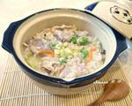 芋头瘦肉糙米粥