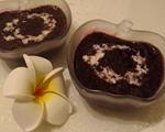 椰汁紫米红豆