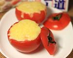 白酱焗烤蕃茄饭
