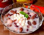 棉花糖奶香红豆汤圆