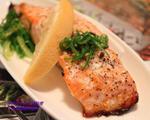 柚香盐麴烤鲑鱼