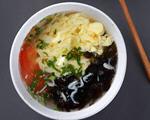 西红柿紫菜蛋花汤(含打蛋花技巧)