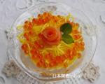 简单版日式花寿司
