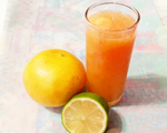 柠檬葡萄柚汁