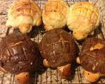 乌龟菠萝面包