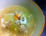 冬瓜咸蛋肉碎汤