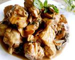 酱烧蚝油豆腐嫩鸡