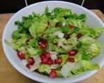 石榴莴苣生菜沙拉