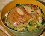 鸡肉盖浇饭