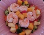 香芒苹果海鲜沙拉