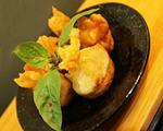 炸鲜虾馄饨福袋